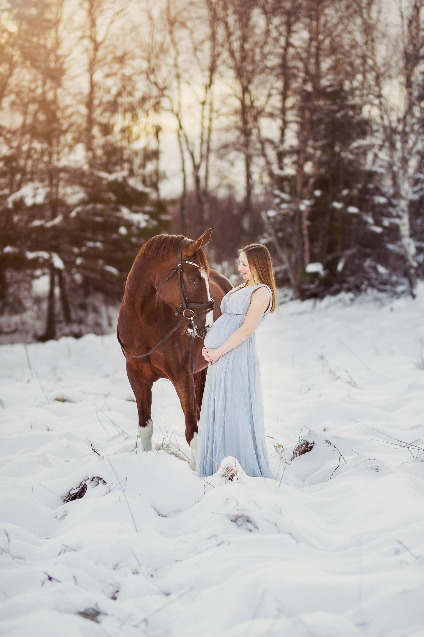 Gravidfotografering_hest_valnesfjord-2